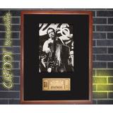 Cuadro Charles Mingus Foto Con Firma Y Entrada Concierto