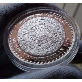 Piedra De Los Soles 1 Onza Plata Ley 0.999