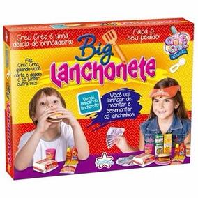 Big Lanchonete Hambúrguer Vários Acessórios - Big Star