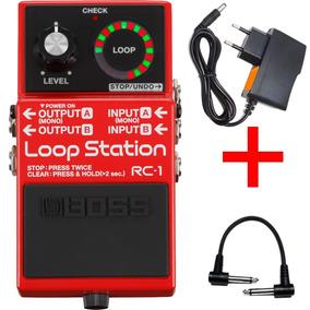 Pedal Boss Rc1 Loop Station Roland Rc 1 Oferta Kadu Som