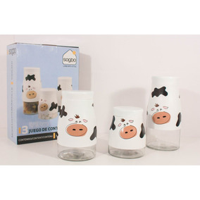 Set 3 Canister Vaca 1006360