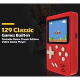 Consola Tipo Gameboy 129 Juegos Nintendo Nes Retro Tv