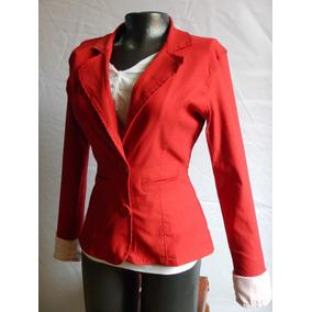 Mercado En Ropa Accesorios Y Amarillo Colombia Mujer Blazer Libre Rojo 7Swxngfnq