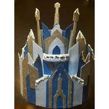 Piñata Castillo Frozen,torta,bolo Falso,decoración Candy Bar