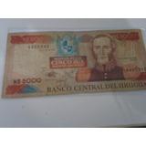 Cédula 5000 Mil Pesos Uruguay /bc .