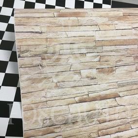 Revestimento Adesivo Imita Pedra Canjiquinha Aplike 10m X 1m
