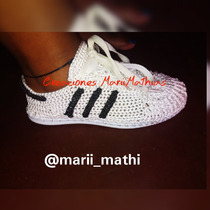 Zapatos Adidas, Nike Y Converse Tejidos.!!