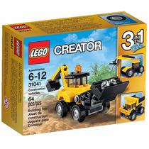 Lego Creator - Veículos De Construção 31041 - 3 Em 1 - 64pçs
