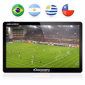 Gps Discovery Tela 5 Tv Digital Alerta Radar Carro Touch 3d