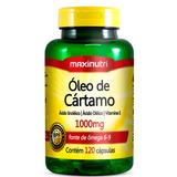 Óleo De Cártamo 1000mg 120cps Maxinutri # Redução Colesterol