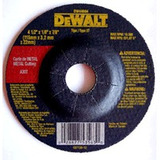 Disco Para Esmeril Dewalt 4 1/2 X 1/4 X 7/8 Pulg. Desbaste