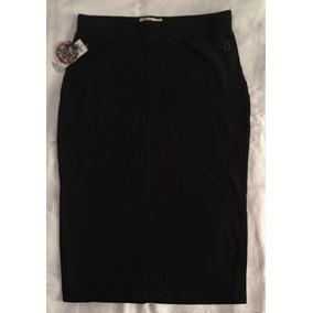 Linda Falda Tubo (pencil Skirt) Volcom Negra Oferta/original