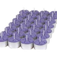 30 Velas Aromáticas Aromatizada Luxo Caixa Rechaud 12 Aromas