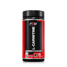 L-carnitina 500mg Ftw - 120 Cáps
