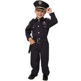Disfraz De Niño De Policía De Lujo