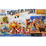Barco Thousand Sunny- One Piece Collection / Bandai | Ninki