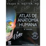 Libro Netter Atlas Anatomia Humana 6edicion Impresión Color