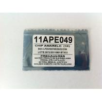 Chip Toner Yellow Impressora Samsung Ctl-325/20 Frete Grátis