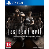 Resident Evil 1 Hd Remaster Juego Ps4 Playstation 4 Stock