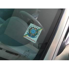 Três Adesivos Advogado Para Vidro Do Carro Frete R$ 7,00