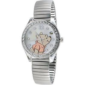 Nuevo Reloj Disney Winnie Pooh Señoras Wp2717 Mop Dial De
