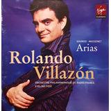 Cd Rolando Villazon Arias Gounod Massenet Evelino Pido