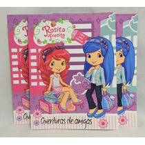 Rosita Fresita Fiestas Recuerdos Libros Colorear 10 Pz 16 Pa