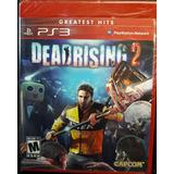 Juego Ps3 Dead Rising 2 Original Fisico Sellado