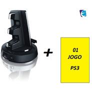 Combo Jogo + Base Giratória Twistdock Com 2 Carregadores Ps3