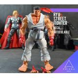 Street Fighter Iv Neca : Ryu Blanco Ryu Negro