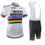 Conjunto Bora Bretelle Uniforme Bike Ciclismo Speed Mtb