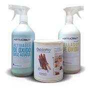 Oxidatto Kit Completo 7m2 Revestimiento Óxido | Artecret