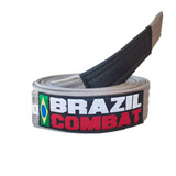 Faixa Jiu Jitsu Brazil Combat Cinza