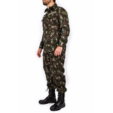 Farda Tática Camuflada Combate Militar Eb Rip Stop Exército