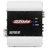Modulo Soundigital Sd700.1d - 1 Canal 700w Rms (1 Ohms)