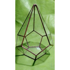 Terrario Vitraux Tiffany Diamante Grande Cactus Suculentas