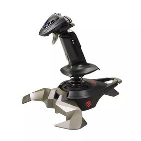 Joystick Manche Madcatz Cyborg V1 Pc Simulador Voo Novo