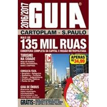 Guia De Ruas São Paulo Cartoplan 2016/2017