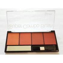 Paleta Super Combo Blush Luisance - Pincel/espelho L295