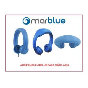 Audífonos Marblue Para Niños Azul Headfoams