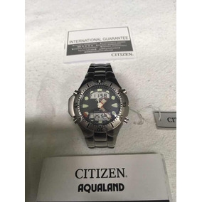 aa128c0b218 Relogio Citizen Aqualand Ii Fundo Azul Original Manual - Relógios De ...
