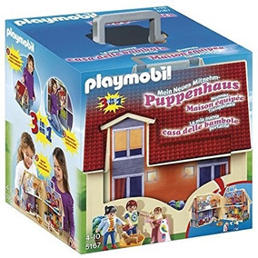 Playmobil Casa Muñeca Maletin 2 Pisos 5167