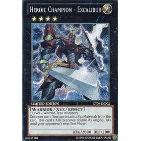 Yu-gi-oh! - Campeón Heroica - Excalibur (ct09-en002) Colec