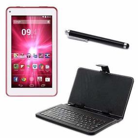 Tablet Funcao Celular 3g 2chip + Capa Teclado & Caneta Touch
