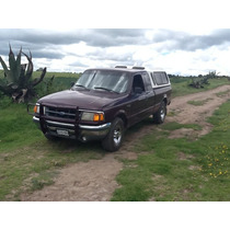 Ford Ranger Cabina Y Media Modelo 1993 Xlt Motor 4 Cilindros