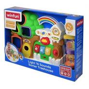 Brinquedo Educativo Casinha Na Árvore Com Luz E Som - Winfun