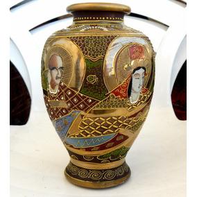 Vintage Porcelana Satsuma Imperial Japão