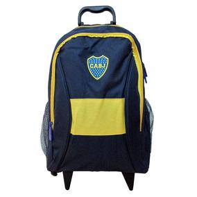 Boca Juniors - Mochila Carrito 17 Pulgadas - Caballito