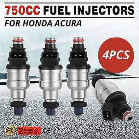 Libre Nuevos Clips Inyectores 750cc Fit Honda Civic 1.6l...