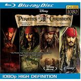 Piratas Del Caribe Colección Bluray 4 Película Hd